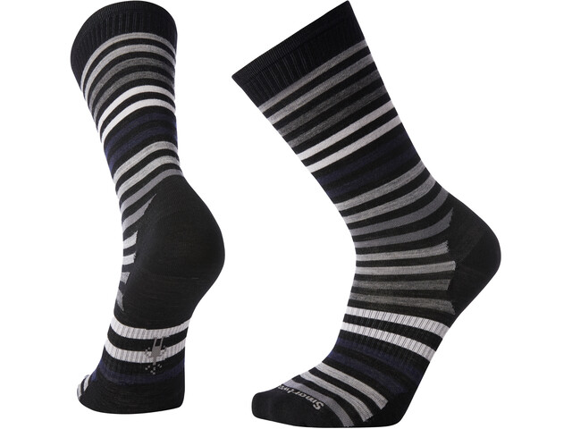 Smartwool Everyday Spruce Street Calcentines Crew Hombre, negro